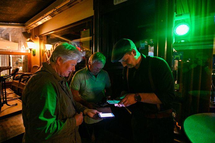 Coronacheck bij café Proost tijdens Zevenbergen Live!