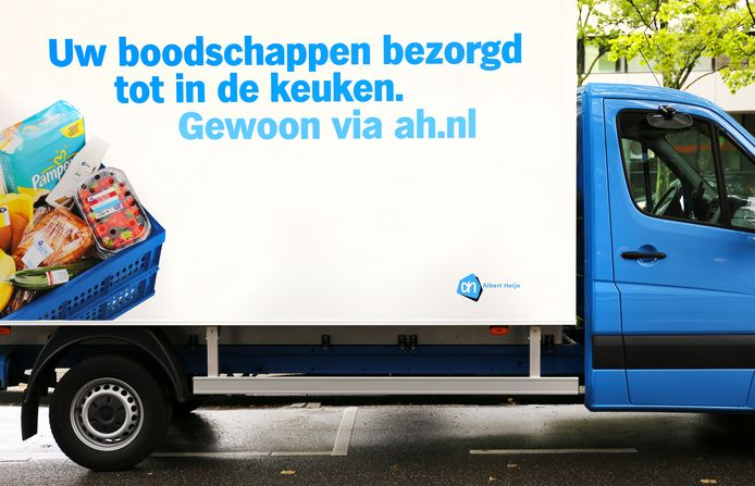 Albert Heijn staat in de top 3 van bedrijven met de hoogste online-omzet in Nederland. Het is de eerste keer dat een supermarkt op dat virtuele podium staat. Albert Heijn is derde, achter de webshops bol.com en Coolblue.