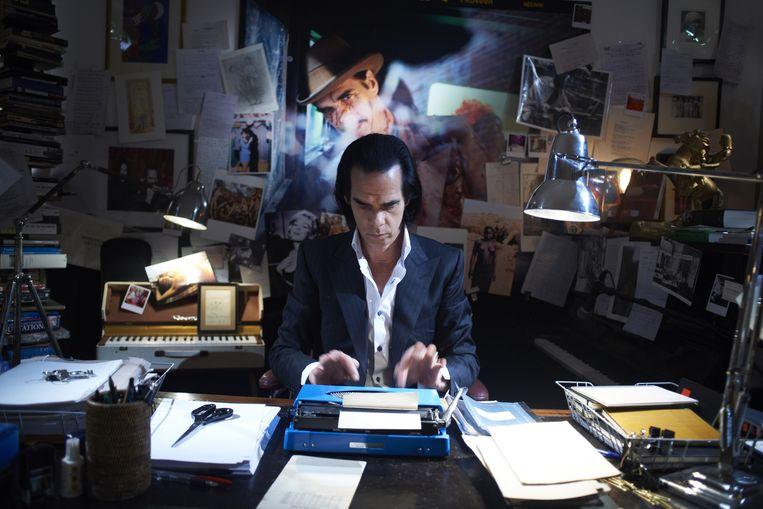 Nick Cave in het filmportret 20,000 Days on Earth. Beeld Corniche Pictures/British Film Institute/Film4/Pulse Films / Album