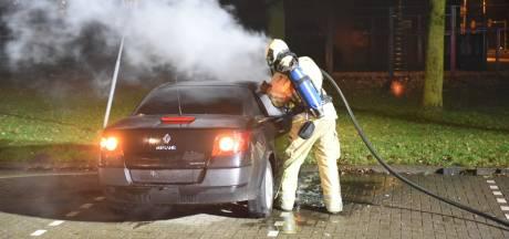 Auto zonder nummerborden in brand gestoken in Hoograven