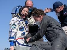 Trois astronautes de la Station spatiale internationale reviennent sur Terre