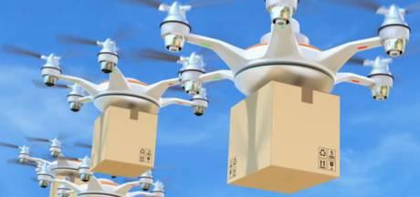 Grote proef met zelfvliegende drones op High Tech Campus in Eindhoven