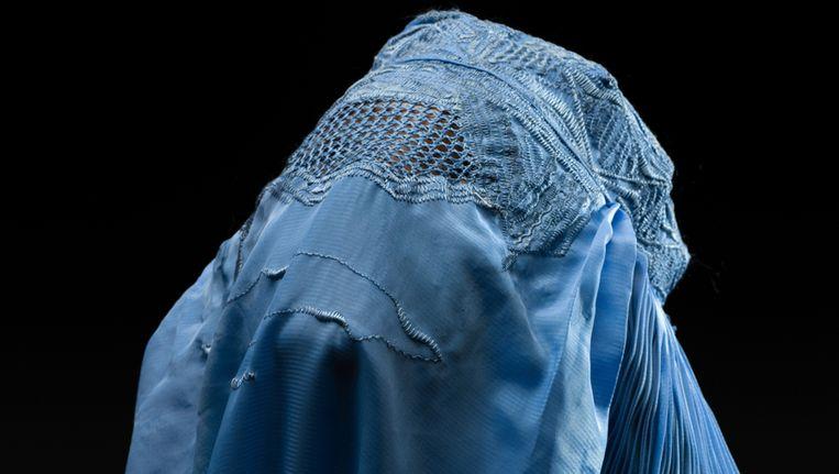 Een vrouw in een Afghaanse boerka. Beeld Thinkstock