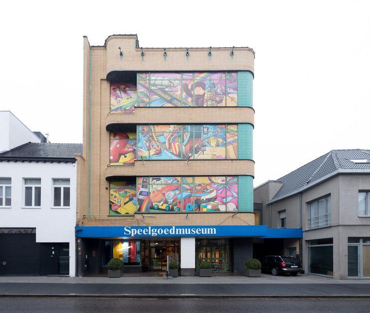 Het Speelgoedmuseum is voorlopig nog gevestigd in de Nova-toren, die waarschijnlijk verkocht wordt.