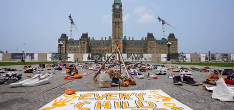 Demonstranten eisen onderzoek naar inheemse internaten Canada