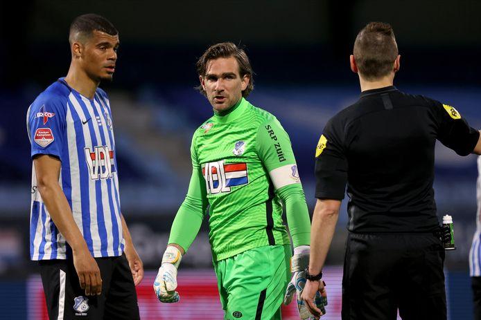 Ruud Swinkels is net als zijn concurrent van Helmond Sport, Stijn van Gassel, genomineerd als beste doelman van de vierde periode.
