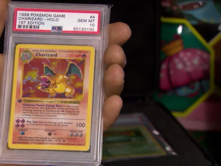 """Man uit Hoogstraten heeft Pokémon-kaart van 500.000 euro: """"Ik verkoop de kaart nog niet"""""""
