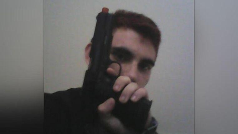 Nikolas Cruz voor de aanslag.