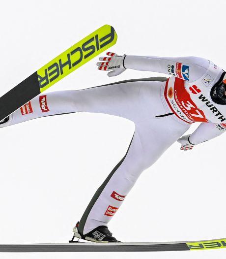 'Apeldoornse' Sara Marita Kramer grijpt weer net naast het podium op WK skispringen