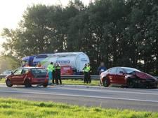 Gewonde en file door ongeluk op A1 bij Bathmen