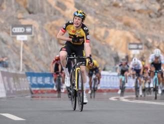 Vingegaard rolt in extremis Lutsenko op en wint tweede bergrit in UAE Tour, Pogacar op weg naar eindzege