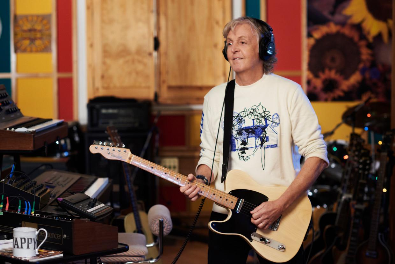 'Ik begon zélf te geloven dat de laatste periode van The Beatles zwaarmoedig was, maar ik wist dat dat niet klopte – ik was erbij!' Beeld Stella McCartney