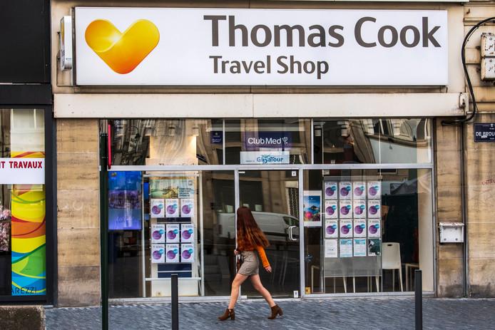 Une agence Thomas Cook à Bruxelles.