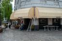Café Hopper maakt zich klaar voor heropening.