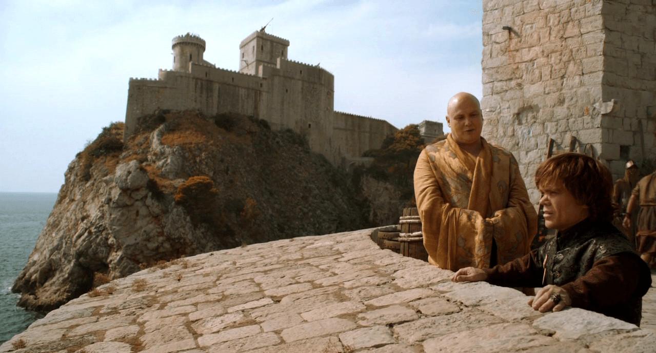 Een beeld uit 'Game of Thrones'