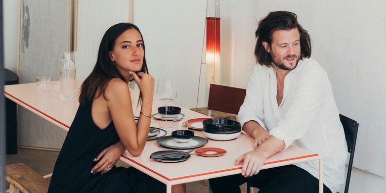 Marie Wynants en Mathieu Terryn.  Beeld rr