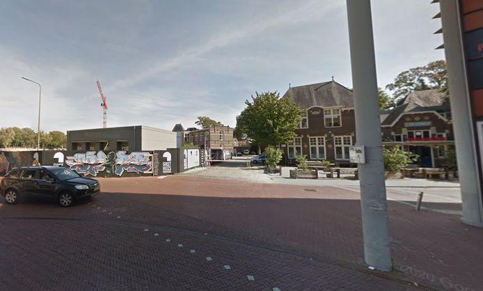 De hoek in het Gasthuiskwartier waar onder meer 36 sociale koopwoningen gepland staan.