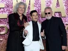 Brian May en Roger Taylor bij première Bohemian Rhapsody