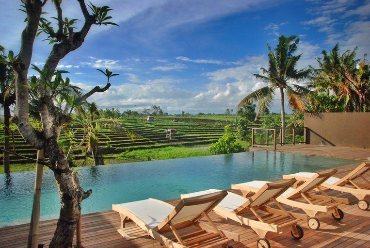 In 2014 nam het koppel hun intrek in hun droomvilla op Bali.