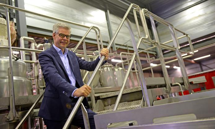 Directeur Willibrord Woertman van Selo.