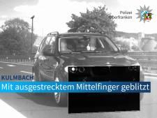 Waarom je nooit je middelvinger moet opsteken naar een Duitse flitsagent
