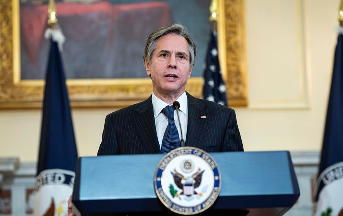 Le chef de la diplomatie américaine Antony Blinken.
