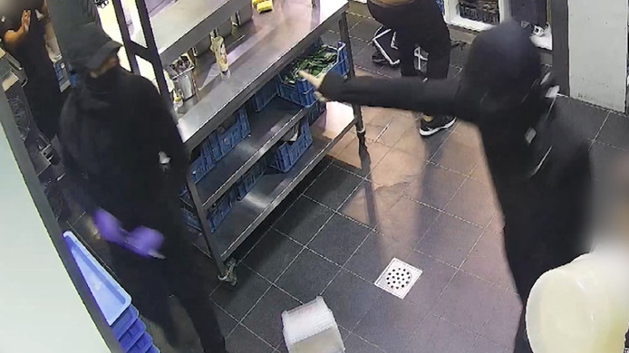 De drie verdachten van de overval in domino's in Voorburg