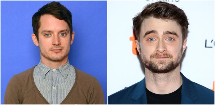Elijah Wood en Daniel Radcliffe