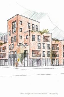 Nieuw plan voor 'de hoek' in Goirle, 28 appartementen zonder parkeerkelder