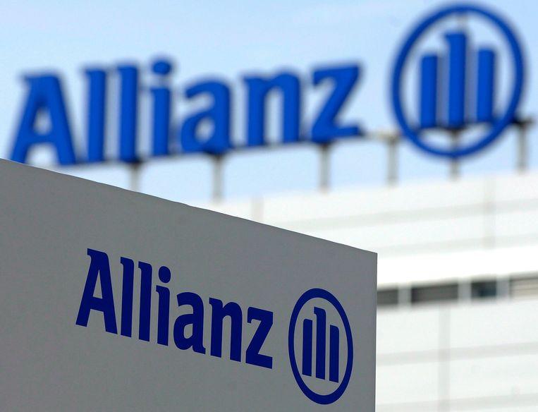 Het hoofdkwartier van Allianz in München. Beeld EPA