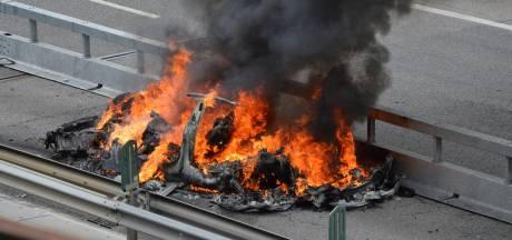 Tesla-batterijen vlogen vijf dagen na ongeval opnieuw in brand