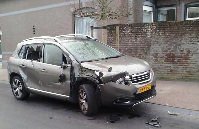 In april van dit jaar werd de auto van Pierre Suijkerbuijk door een vrachtwagen geramd en meegesleurd.