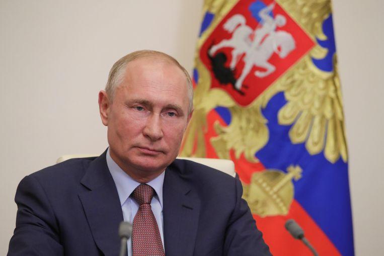 De Russische president Poetin. Beeld EPA
