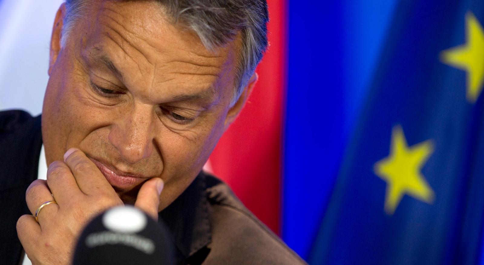 De Hongaarse premier Viktor Orbán.