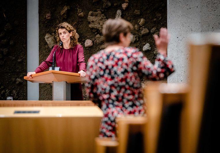 Sophie Hermans, woensdag in de Tweede Kamer. Ze is sinds kort de nummer 2 van de VVD. Beeld Bart Maat/ANP