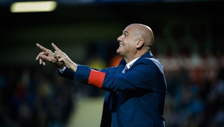 Westerlo-coach Dennis van Wijk. Beeld BELGA