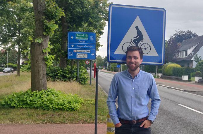 Gemeenteraadslid Adrian De Weerdt (CD&V).