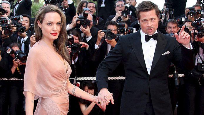 Ook Brad Pitt en Angelina Jolie gingen uiteindelijk, na een relatie van tien jaar, uit elkaar.