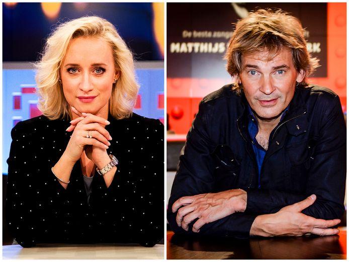 Eva Jinek en Matthijs van Nieuwkerk
