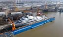 De Solaris, de nieuwe jacht van Chelsea-eigenaar Roman Abramovich.