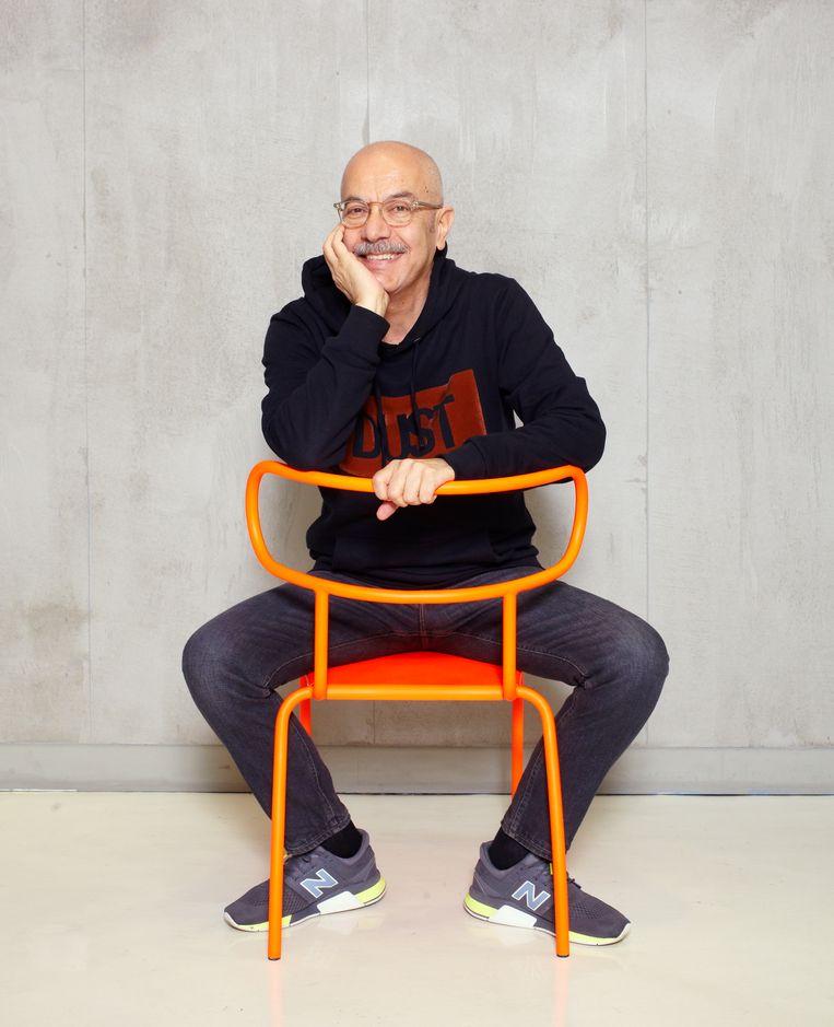 William Sawaya in zijn studio in Milaan. Beeld Daniel Cohen