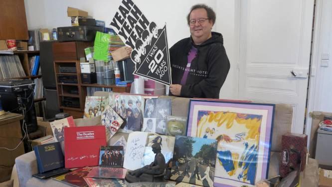 """""""Mijn obsessie voor The Beatles verwoestte mijn leven"""": man veilt 15.000 stuks fanmateriaal"""