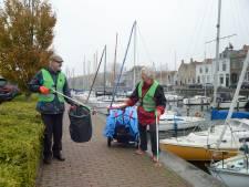 Opruimactie voor Brouwershaven