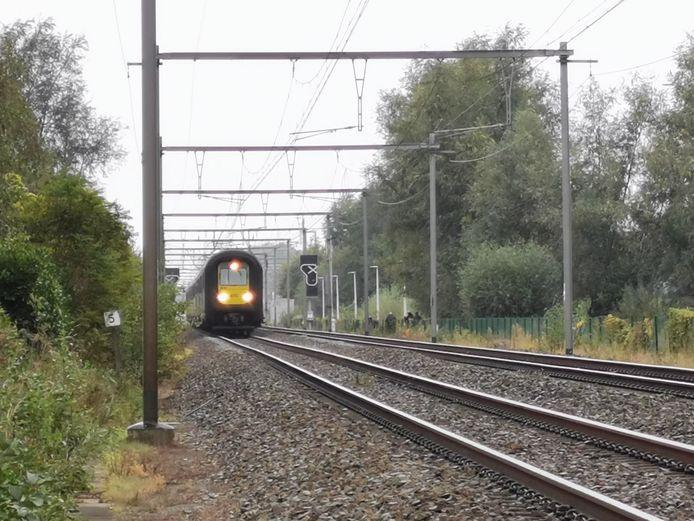Tussen Poperinge en Menen rijden voorlopig geen treinen.