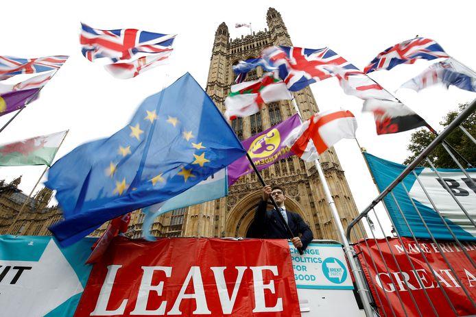 De Britten kunnen ook eerder dan 31 januari vertrekken als de goedkeuring van het scheidingsakkoord eerder rond is.