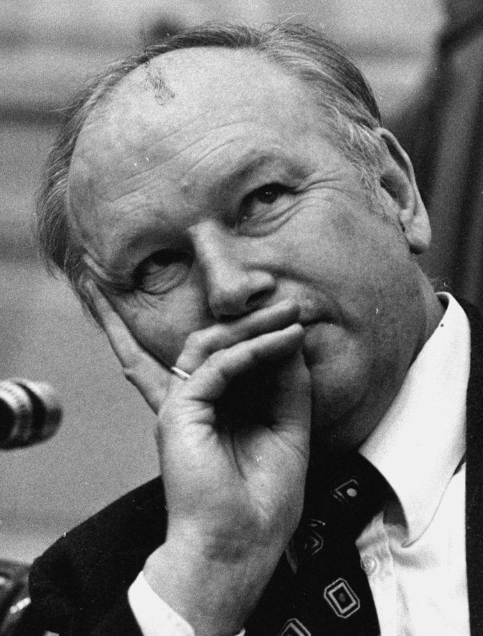 Oud-minister Kruisinga in februari 1978