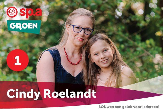 Cindy Roelandt was in oktober nog lijsttrekker en krijgt nu ook een plaatsje op de lijst van het Vlaams parlement.