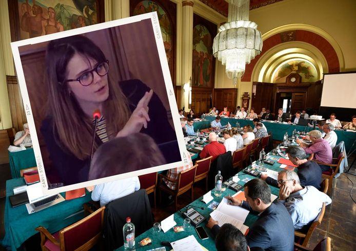Tous les autres partis se sont retournés contre Pauline Boninsegna et le PTB eu conseil communal de Charleroi