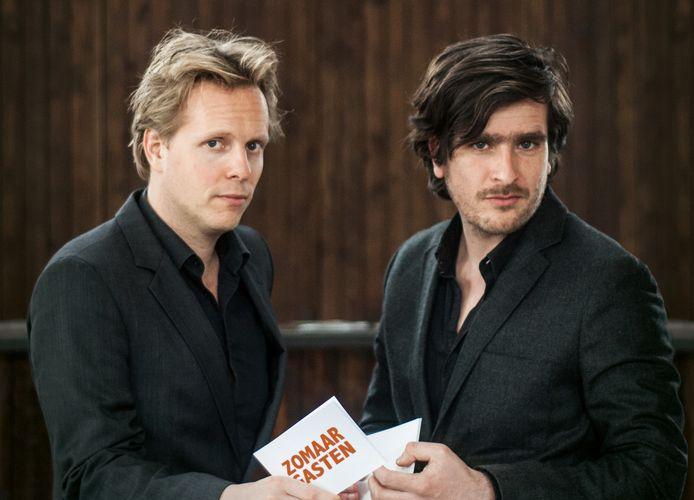 Oscar Kocken en Patrick Nederkoorn - Zomaargasten. In september te zien op het Festival Op De Grens in Roosendaal.