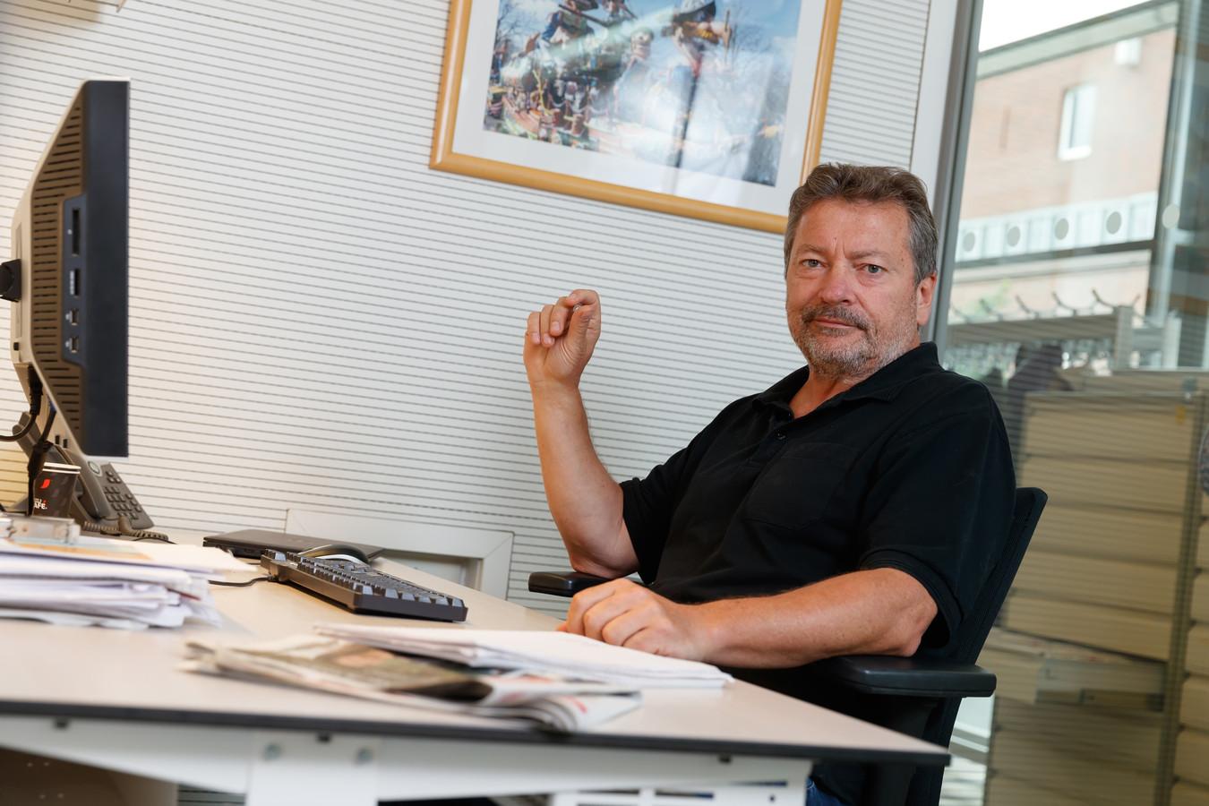 Verslaggever Hessel de Ree